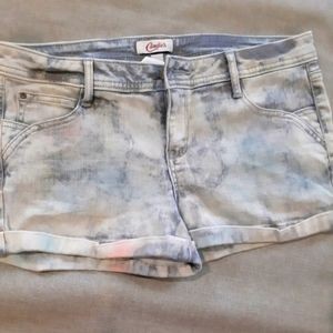 🌞3/$25🎉 Candie's Sparkly Multicolor Jean Shorts